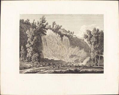 Albert Christoph Dies, 'Cascatella Superiore a Tivoli', 1796