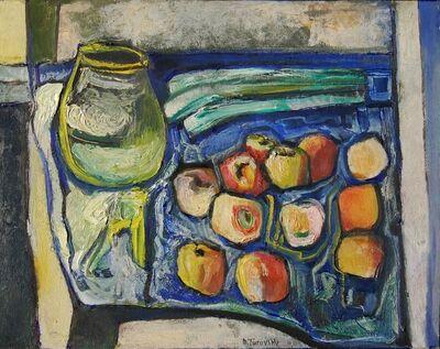 Mikhail Turovsky, 'Pot and Apples', ca. 1995
