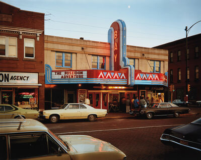 Stephen Shore, '2nd St., Ashland, Wisconsin, July 9, 1973'