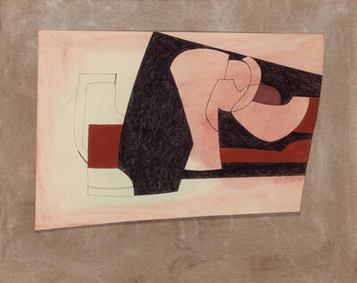Ben Nicholson, 'Pink, Red and Black', 1978