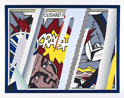Roy Lichtenstein, 'Reflections on Crash (C. 239)', 1990