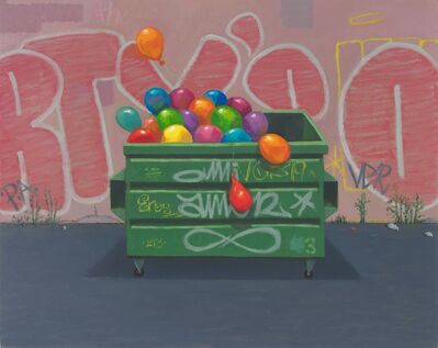 Vonn Sumner, 'Balloon Dumpster (The Party's Over)', 2019