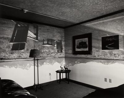 Abelardo Morell, 'Camera Obscura Image of the Grand Tetons in Resort Room', 1996