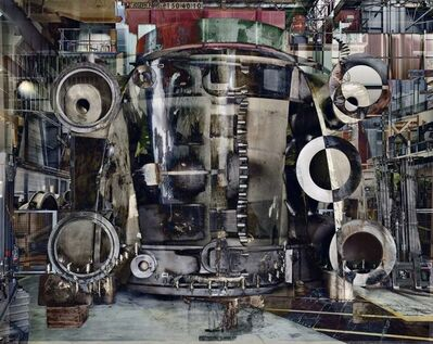 Stéphane Couturier, 'Photo n° 2 Halle Power, from the series Melting Power (Usine Alstom – Belfort)', 2009