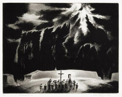 Gene Kloss, 'Penitentes by Moonlight (Kloss 516)', 1967