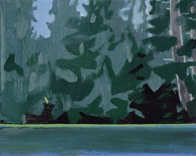 Eric Aho, 'Lake Edge IV'