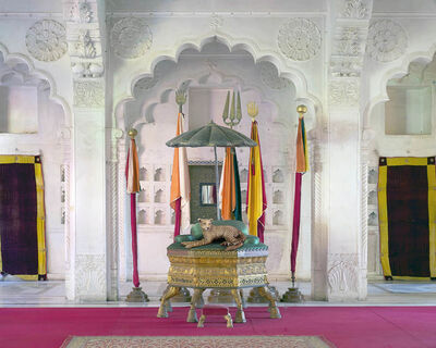 Karen Knorr, 'The Inheritor, MotiMahal, Mehrangarh Fort, Jodhpur'