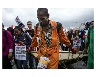 Nina Berman, 'Eric Garner killing protest march, Nerw York, 2014', 2014