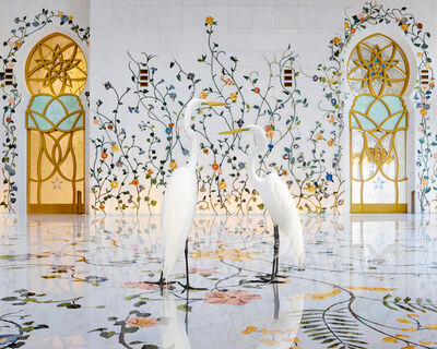 Karen Knorr, 'Morning Glory, Grand Mosque, Abu Dhabi', 2019