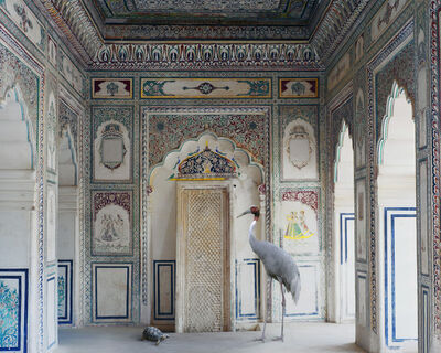 "Karen Knorr, 'Amrita's Message, Nagaur Fort, Nagaur. From the series ""India Song""', 2012"