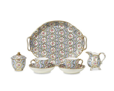 Sèvres Porcelain Manufactory, 'Tea service (déjeuner)', 1768