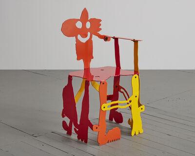 """Serban Ionescu, '""""PG"""" sculptural chair', 2019"""