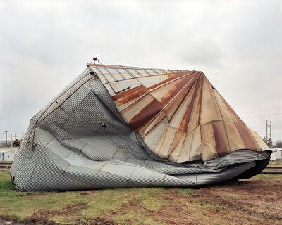 Richard Renaldi, 'Smashed Silo, Electra, Texas', 2005