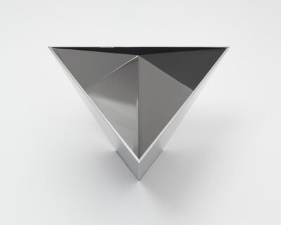 Meg Webster, 'Model for Polished Tetrahedron for Sometimes Containing Water, Sometimes Containing Rain', 2013