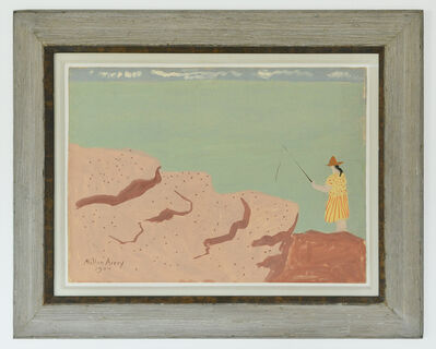 Milton Avery, 'Fishing by the Sea', 1944