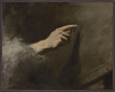 Jusepe de Ribera, 'Vision des Belsazar', 1635