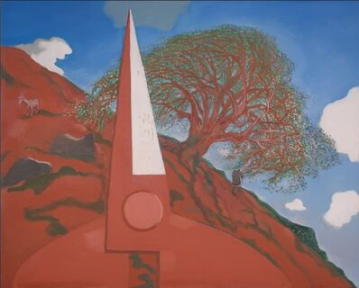 Mao Xuhui 毛旭辉, 'A Dream of Mount Gui, Scissors and Walnut Trees in Spring', 2015