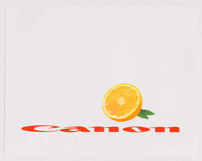 Steven Baldi, 'Canon stretched and squeezed (red)', 2017