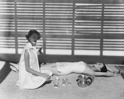 Horst P. Horst, 'Bombay Bathing Fashion by Carolyn Schnurer, Vogue ', 1950