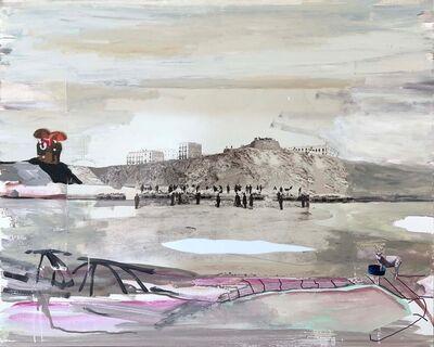 Juan Ugalde, 'Cabra y paraguas', 2017