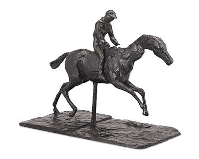 Edgar Degas, 'Horse with Jockey; Horse Galloping on the Right Foot, the Back Left Foot Only Touching the Ground', 1998