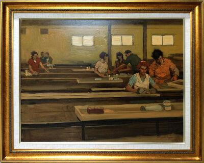 Malcolm T. Liepke, 'Steel Factory', 1986