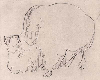 Stanley William Hayter, 'Bison', 1927