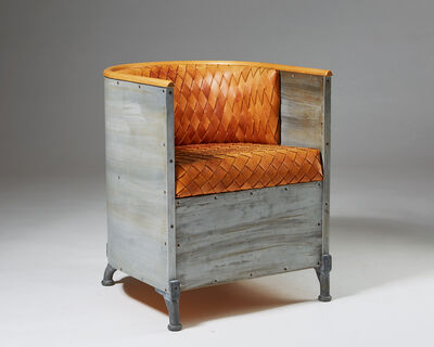 Mats Theselius, 'Armchair 'Aluminium' designed by Mats Theselius for Källemo, Sweden. 1990.', 1990-1999