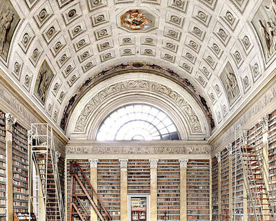 Massimo Listri, 'Palatina Library II, Parma, Italy | World Libraries', 2012