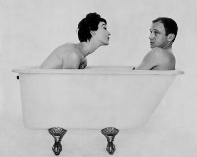 William Helburn, 'Bill and Dovima in the Tub, during a shoot for Corday', 1958