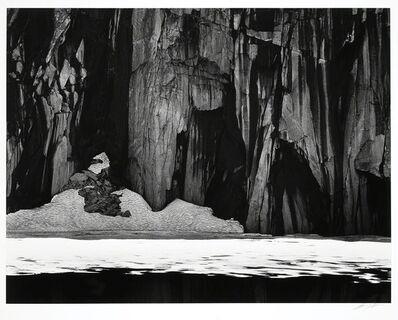 Ansel Adams, 'Frozen Lake and Cliffs, The Sierra Nevada, California', 1927