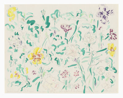 Hannah Wilke, 'Untitled (Flowers) ', 1987