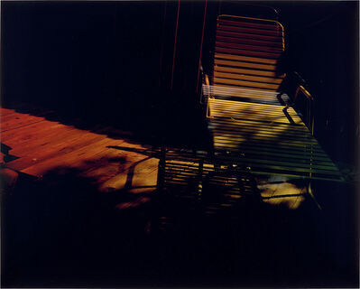 Mariah Robertson, 'Deck Chair', 2005