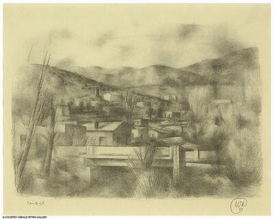 Willard Nash, 'Landscape with Adobes'