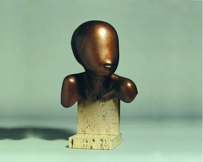 Ralph Brown, 'Tete de Jeune Fille', 1978