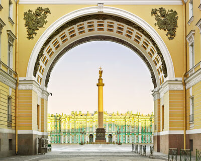 David Burdeny, 'Palace Square, St. Petersburg, Russia', 2014