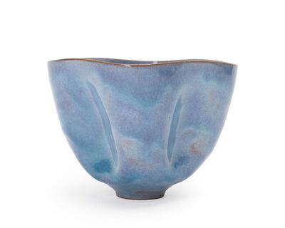 Otto Natzler, 'Footed bowl'