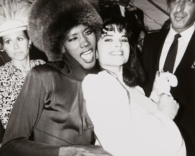 Andy Warhol, 'Andy Warhol, Photograph of Grace Jones & Maria Shriver Schwarzenegger, 1986', 1986