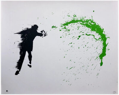 Nick Walker, 'Paint Chucker (Green)', 2015