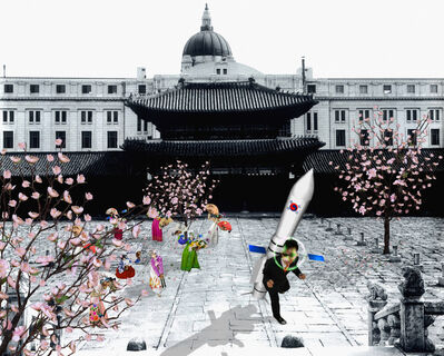 Sang Hyun Lee, 'Rocket Launch In The Imperial Palace', 2009