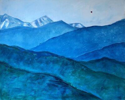 Randa Dubnick, 'Layers of Blue', 2018