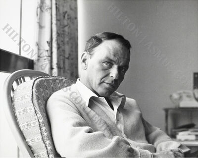 Unknown, 'Frank Sinatra - Relaxing on Tour', ca. 1962