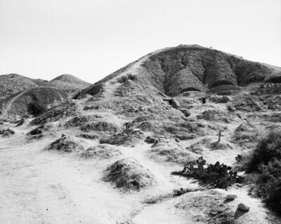 Jo Ractliffe, 'Hillside graves, Dombe Grande', 2010