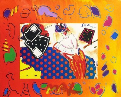 Peter Max, 'RISING SUN COLLAGE 2 (OVERPAINT)', Unknown