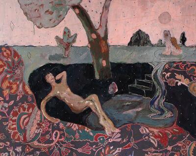 Alexandra Levasseur, 'La reine et le lion', 2020