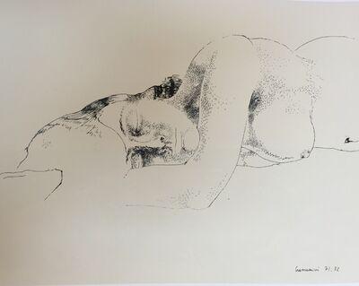 Leonardo Cremonini, 'Les seins à la terre (I seni a terra)', 1971-1972