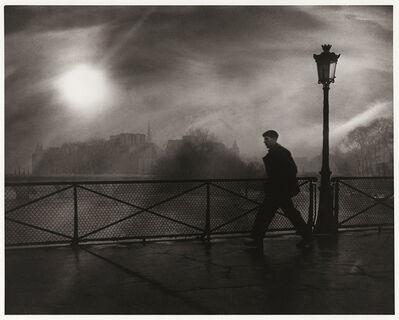 Edith Gerin, 'Le Passant du Pont des Arts, Paris', 1949/1990s