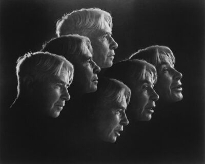 Edward Steichen, 'ROLF PETERSEN (active 1950s) Composite (montage) of Carl Sandburg.', 1950s