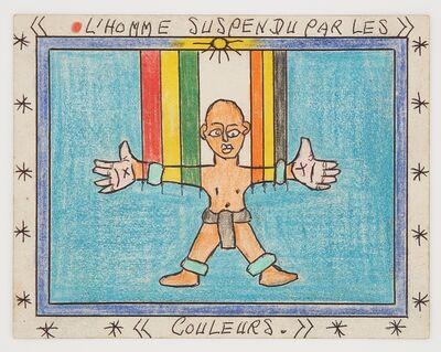 Frédéric Bruly Bouabré, 'Untitled (L'homme Suspendu XXVI)', 2011