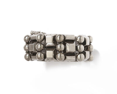 Hector Aguilar, 'A Hector Aguilar silver bracelet', 1940-1945